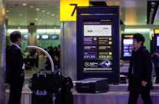 Real-Time Travel Screens - Heathrow's Smart Screen Airport Technology Shows Live Transportation
