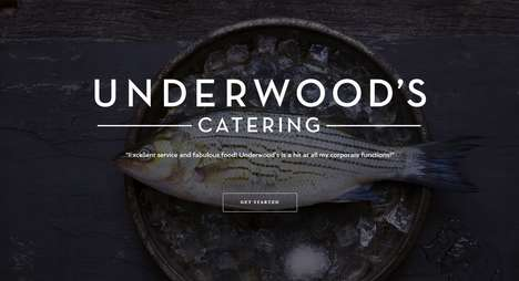 Artistic Catering Sites - Underwood's Catering Gives Consumers Fresh and Artisanal Products
