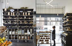 Provincial Delicatessen Interiors - This London Butcher Shop Boasts Artisanal Design Inspirations