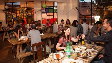 Pop-Up Relief Restaurants - Grub Club's Temporary Eatery Raises Funds to Support for Nepal