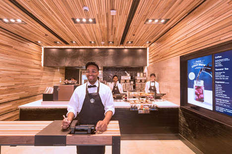 No-Wait Coffee Shops - The Starbucks Line is Eliminated with an Efficient Location in New York City