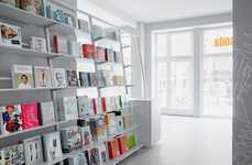 Whiteout Bookstore Interiors - The Soda.BERLIN Bookshop is a Masterful Application of Minimalism