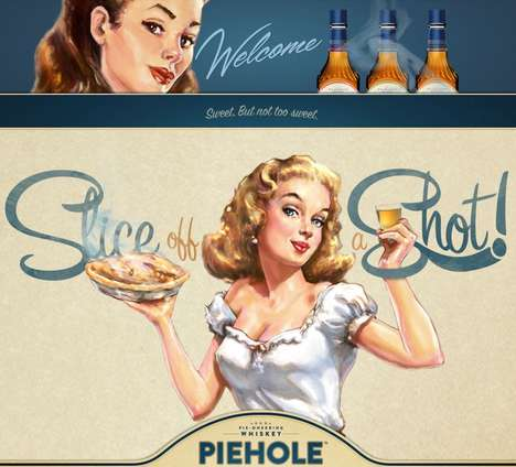 Pie-Flavored Liquors - Piehole Whiskey Infuses Spirits with Flavors Like Apple and Pecan Pie