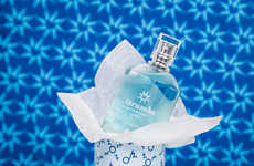 Oceanic Fragrance Packaging - This Fragrance Bottle Design Inspires Tranquil Images of the Ocean