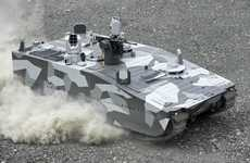 Speedy Armored Vehicles - Combat Vehicle 90 Makes Use of Formula One Racing Technology