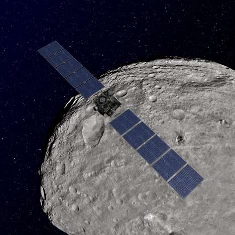 Asteroid-Exploring Software - This Browser-Based Application Lets You Explore the Asteroid Vesta