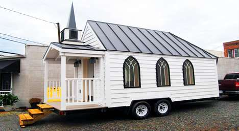 Mobile Wedding Chapels - This Portable and Affordable Wedding Venue is Cost and Space-Effective