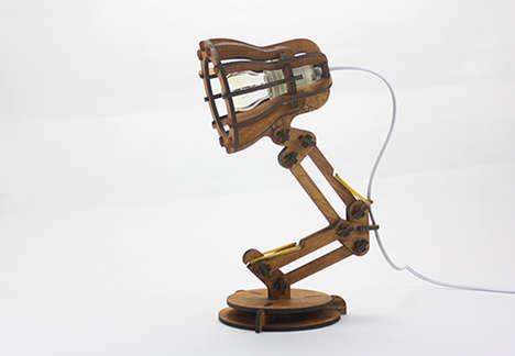DIY Desk Lamps