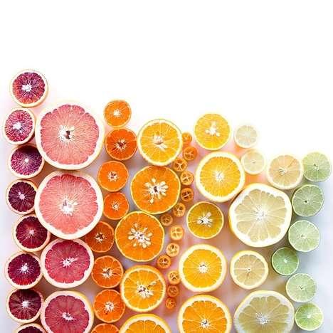 Gradient Food Photography