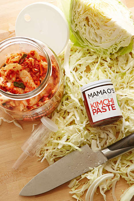 Korean Condiment Kits - This Kimchi Making Kit Lets Foodies Create The Asian Treat at Home