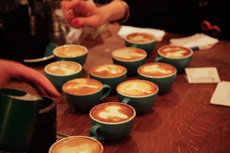 Phallic Latte Art Contests