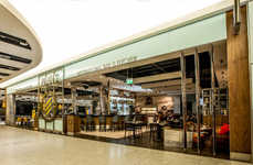 Aviation-Themed Airport Bars - This Heathrow Restaurant and Bar is Inspired by Vintage Jets