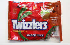 Caramel-Stuffed Licorice - Twizzler's Licorice Twists are Loaded with a Candy Apple Filling