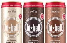 Nutritious Energy Drinks - This Clean Energy Drink From HiBall Statisfies and Nourishes