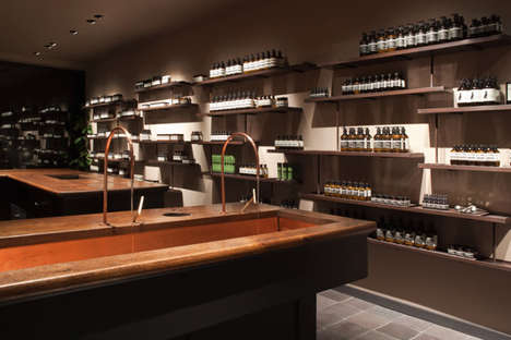 Spa-Inspired Retail Concepts