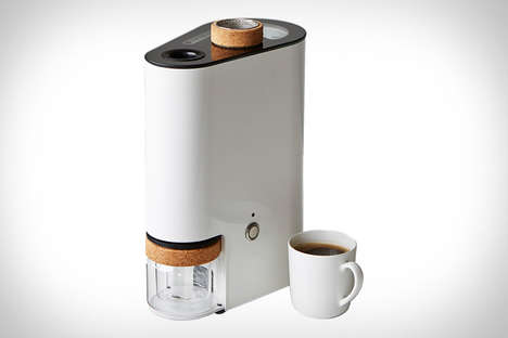 Smart Home Coffee Roasters - The Ikawa Home Coffee Roaster Has Smartphone Connectivity