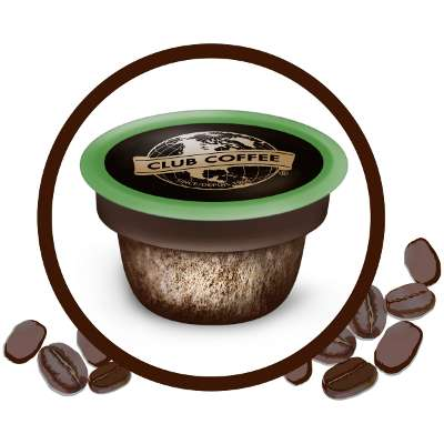 Compostable Coffee Pods - Club Coffee has Developed a Fully Compostable Coffee Pod