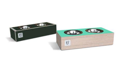 Chalkboard Dog Bowls