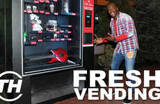 Fresh Vending - Misel Saban Counts Down Her Favorite Examples of Fresh Food-Dispensing Machines