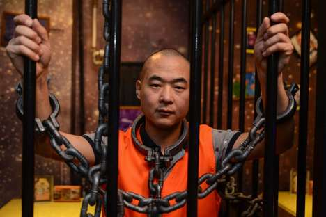 Converted Prison Restaurants - China's Latest Experiential Dining Fad Involves Shackles and a Cell