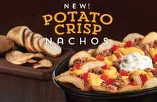 Potato Chip Nachos - This New Menu Item at Taco Bell Revolutionizes a Classic in Tex Mex Cuisine