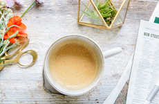 Coconut Butter Beverages - This Buttered Coconut Coffee Recipe is a Variation of Bulletproof Coffee