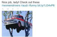 Female-Celebrating Car Ads - Audi Uses #WomenDrivers to Showcase Female Talent in Its Latest Ads