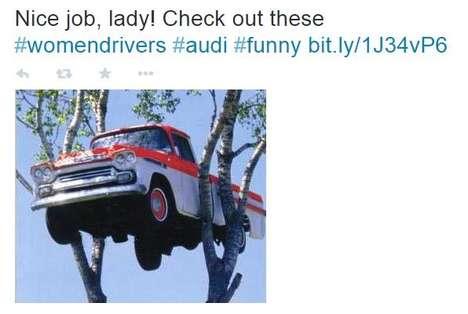 Female-Celebrating Car Ads