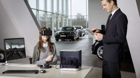 Virtual Reality Car Dealerships - The Audi VR Experience Serves as a Mobile Car Dealership