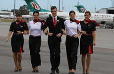 Retro Airline Uniforms