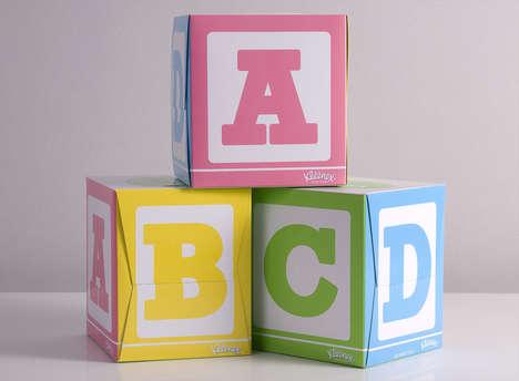 Building Block Tissue Boxes