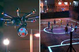 Drone Football Campaigns