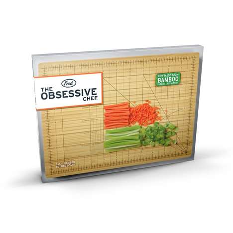 Precise Cutting Boards - Expertly Slice Your Food with the Obsessive Chef Bamboo Cutting Board