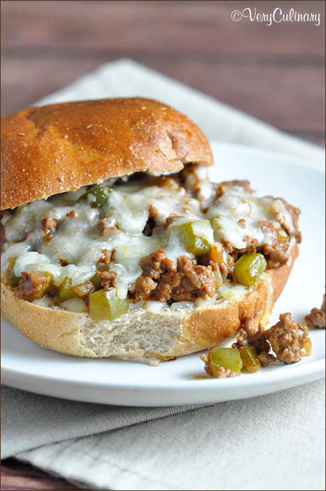 Cheesy Sloppy Joe Meals