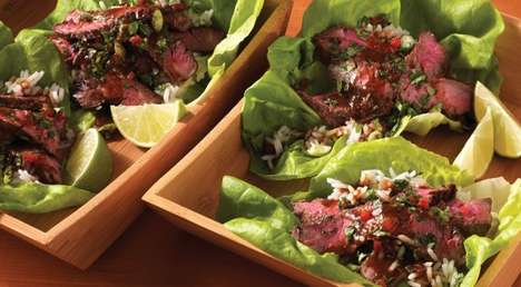 Steak Lettuce Wraps - Jamie Purviance Creates a Healthy Recipe with a Ginger and Soy Base