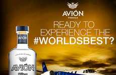 $500,000 Tasting Flights - The Tequila Avion Tasting Flight is a Budget-Breaking Experience