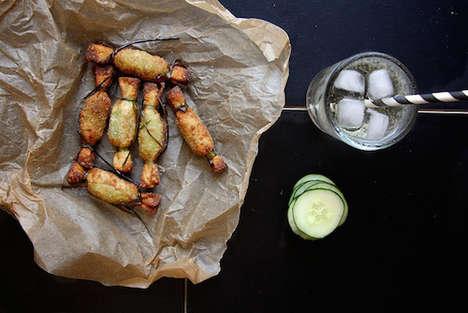 Fried Guacamole Wantons