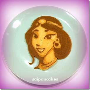 Disney Pancake Art