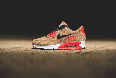 Commemorative Cork Sneakers - The Nike Air Max 90 Cork Model Celebrates 25 Years