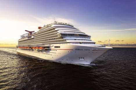 Luxurious Oceanic Theaters - The Carnival Vista Creates the Ultimate IMAX Experience on the Sea