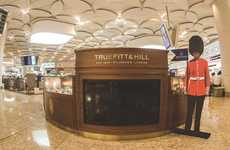 Airport Barber Booths - The Truefitt & Hill Chatrapati Shivaji Airport Kiosk Grooms Visitors