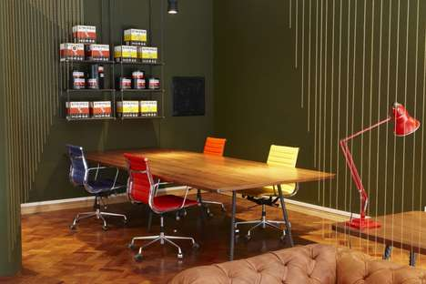 Vibrant Microbrewery Offices