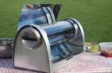 Fuel-Free Cookers - This Portable Solar Grill Can Cook Food Even at Night with Clean Energy