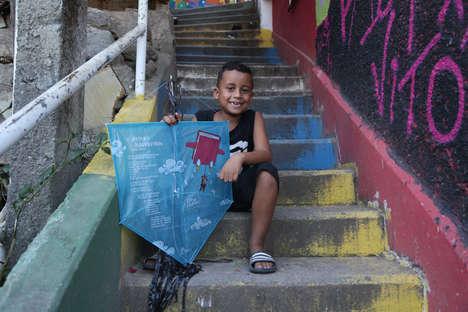 Literacy-Encouraging Kites