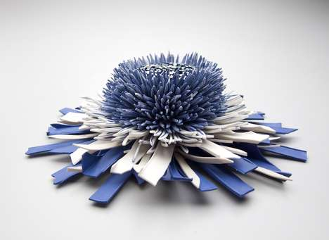 Blooming Ceramic Sculptures