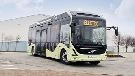 Eco-Friendly Electric Buses