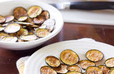 Salty Zucchini Chips