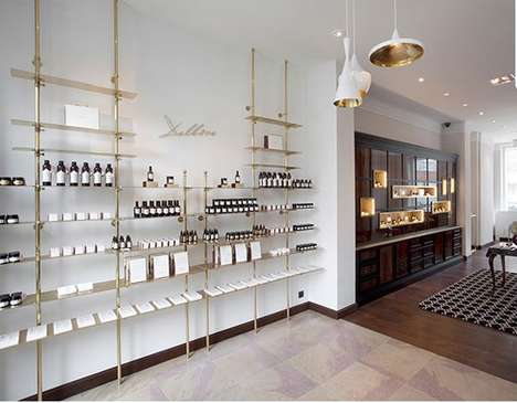Apothecary-Style Beauty Flagships - The Delbove Flagship Boutique is a Sprawling Upscale Boutique