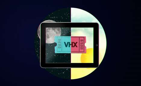 Self-Curated Video Subscriptions - VHX Lets Users Build a Personal Video Library