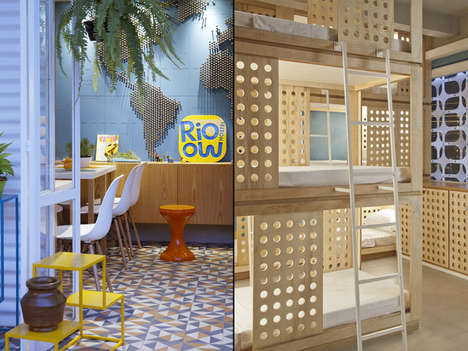 Energetic Downtown Hostels - This Rio Hostel is a Vibrant Window into Brazil's Capital City
